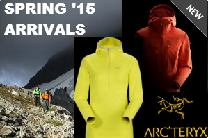 Arc'Teryx 2015 New Arrivals