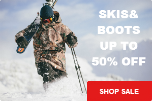 Skis and Boots Blowout Sale