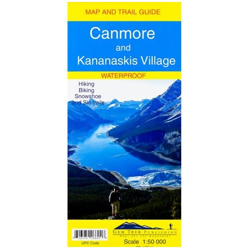 Canmore & Kananaskis Village Map