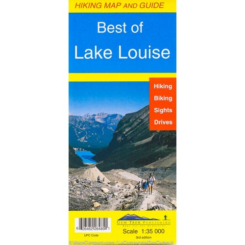 Best of Lake Louise Map