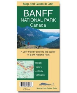 Gem Trek Banff National Park Map