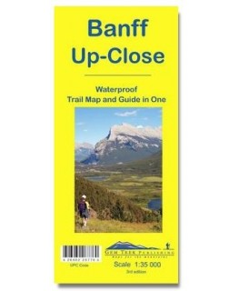 Gem Trek Banff Up-Close Map