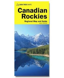 Gem Trek Canadian Rockies Map