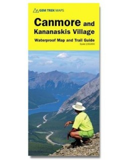 Gem Trek Canmore & Kananaskis Village Map