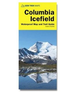 Gem Trek Columbia Icefields Map