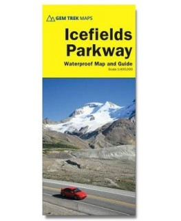 Gem Trek Icefields Parkway Map