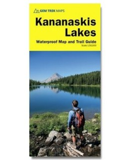 Gem Trek Kananaskis Lakes (7th Ed.) Map