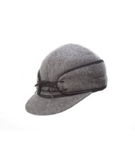 Crown Cap Classic Railroad Wool Cap