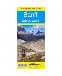Banff - Egypt Lake Map