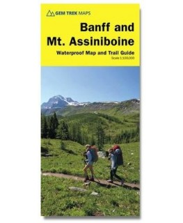 Gem Trek Banff & Mt. Assiniboine Map