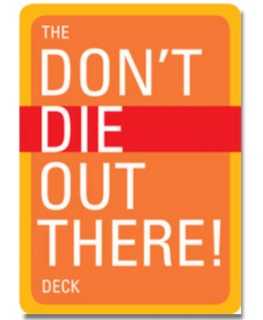 Don't Die Out There Deck (Cards) by Christopher Van Tilburg