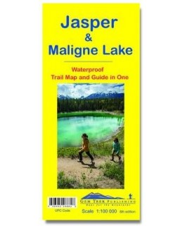 Gem Trek Jasper & Maligne Lake Map