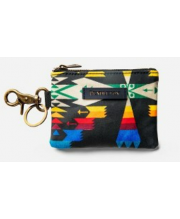 Pendleton Canopy Canvas ID Pouch Key Ring