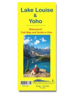 Gem Trek Lake Louise & Yoho Map