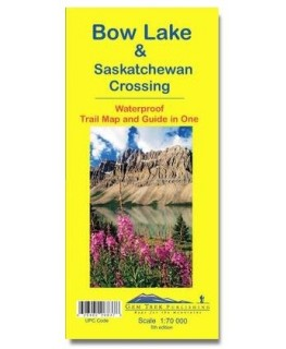 Gem Trek Bow Lake & Saskatchewan Crossing Map