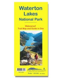 Gem Trek Waterton Lakes National Park Map