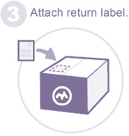return shipping - attach return label
