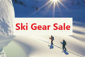 Great deals on skis, ski boots, helmets